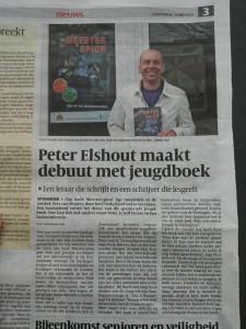 Peter Elshout Meestespion Krantartikel